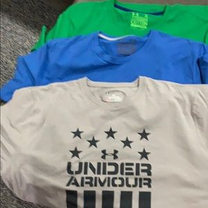 Under Armour tee shirts
